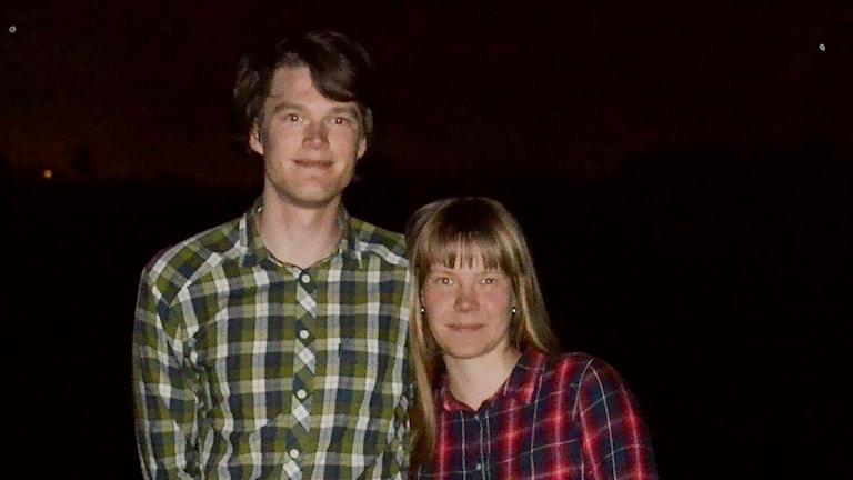 Daniel Wickman och Inger-Marit Kuorak
