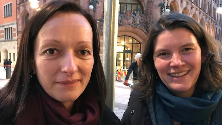 Laura-Maria Craciunean-Tatu och Agnes von Maravic, Europarådet.