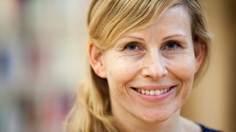 Kristina Sehlin MacNeil, doktorand vid Centrum för samisk forskning (Cesam) - Vaartoe. Tillhör institutionen för kultur- och medievetenskaper