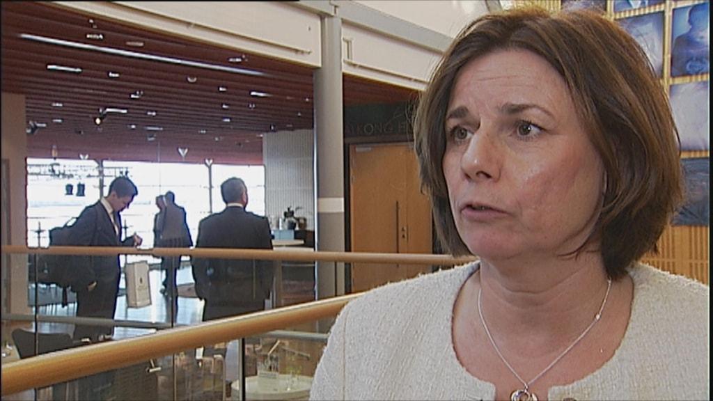 Sametinget och miljöminister Isabella Lövin träffas i Luleå.
