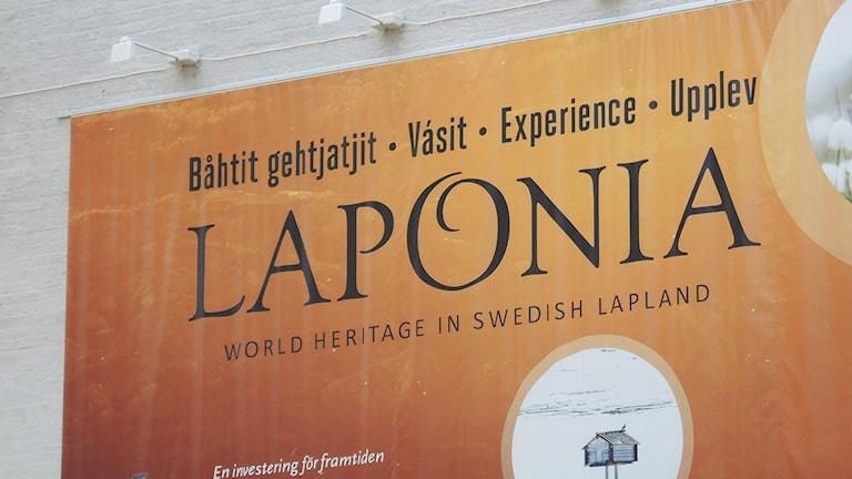 Världsarvet Laponia. Foto: Sameradion & SVT Sápmi