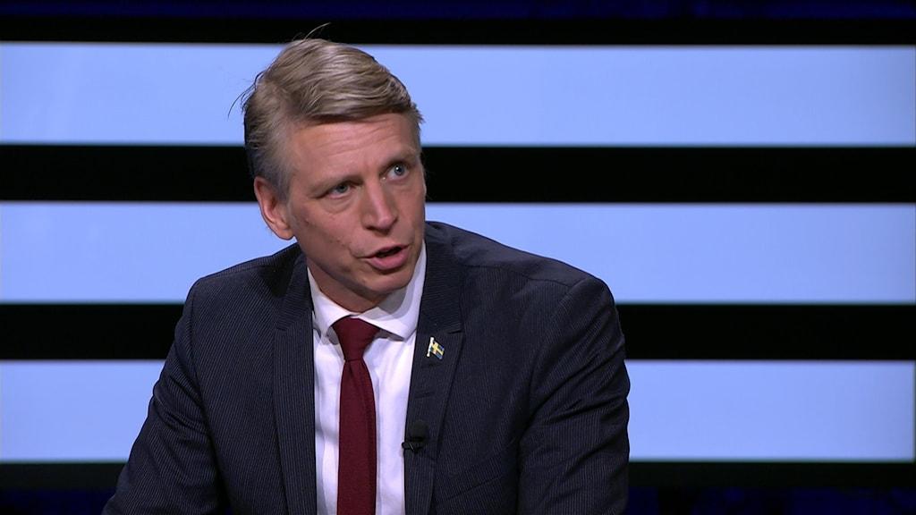 Miljö- och klimatminister Per Bolund (MP)