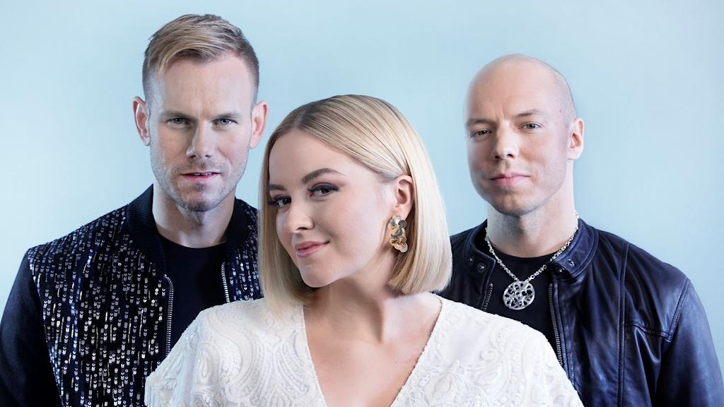 Tom Hugo Hermansen, Alexandra Rotan och Fred Buljo är med i trion KEiiNO.