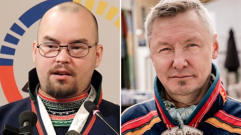 Paulus Kuoljok och Per Olof Nutti