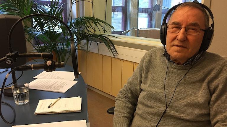 Lars-Paul Kroik, partiledare Albmut.