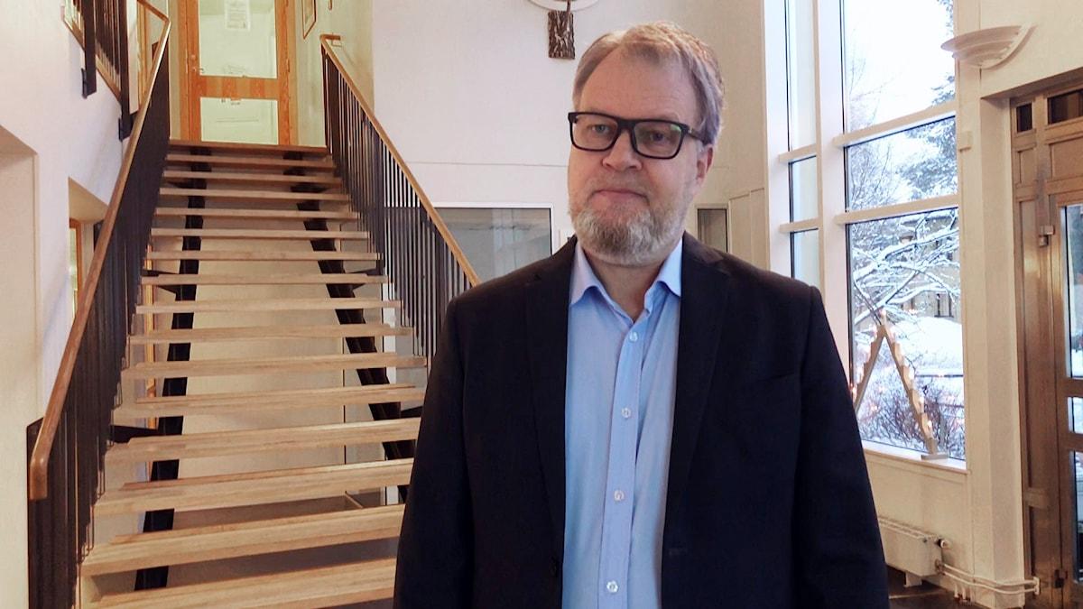 Håkan Wiklund, samordnare vid länstyrelsen i Norrbotten för omsättningsstödet i Norr- och Västerbotten.