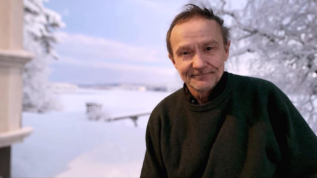 Håkan Jonsson, partiledare för Jakt och fiskesamerna i Sametinget.