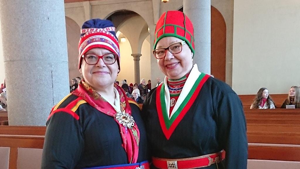 Anna-Stina Svakko och Birgitta Ricklund