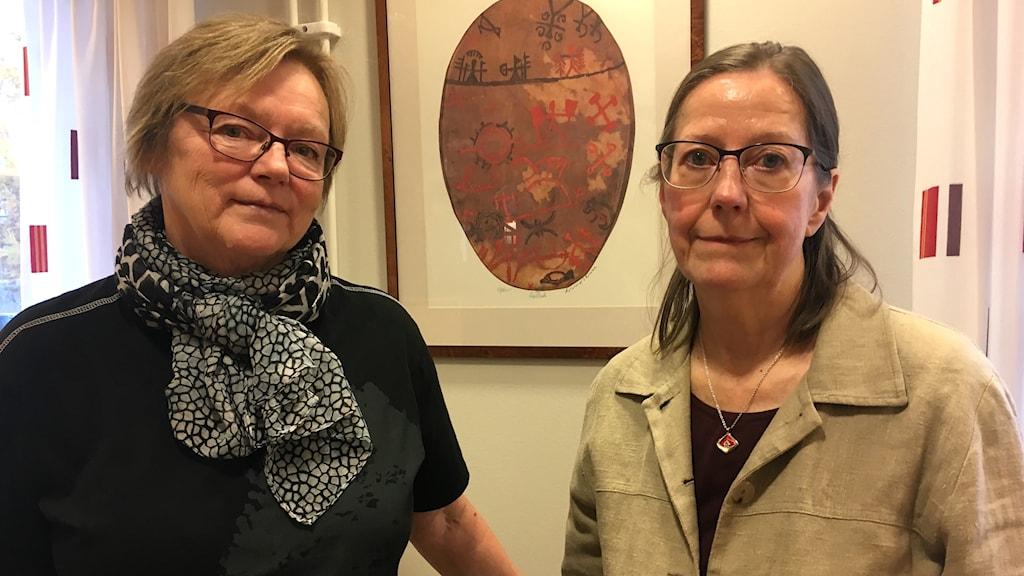 Gunilla Falk och Lilian Ryd