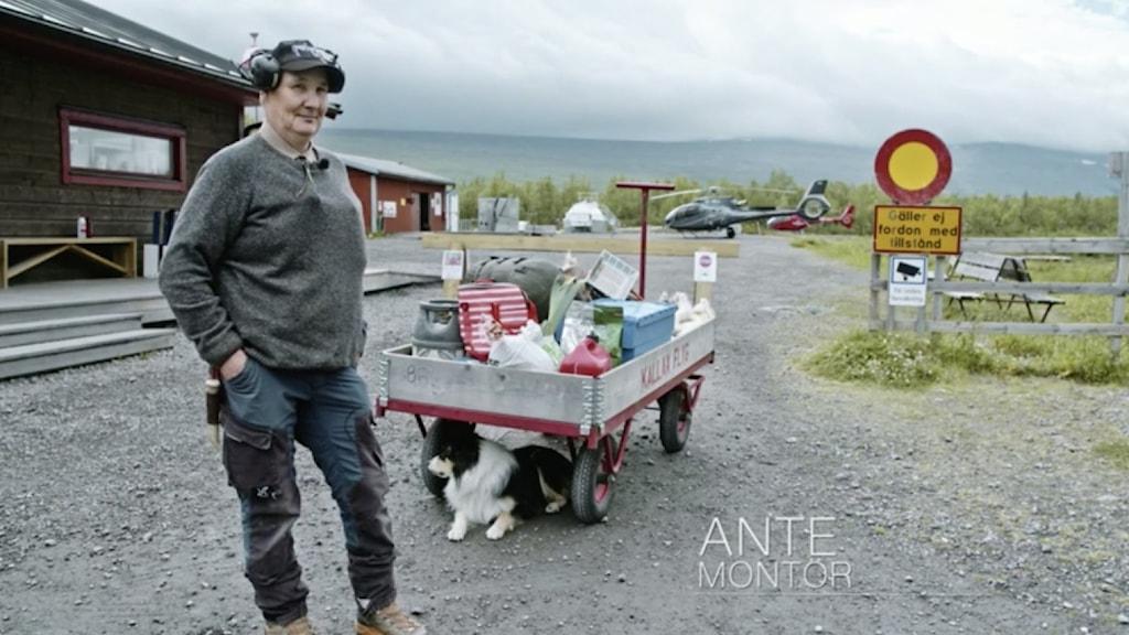 Ante Jannok från TV-programmet Helikopterpiloterna som sänds i TV3, Viaplay & Viafree.