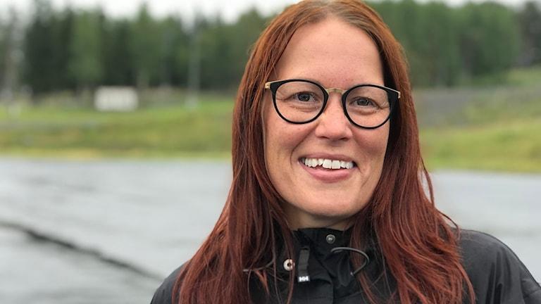 Erica Omma Unnes, Östersund. Foto Anna-Karin Niia, Sameradion & SVT Sápmi.