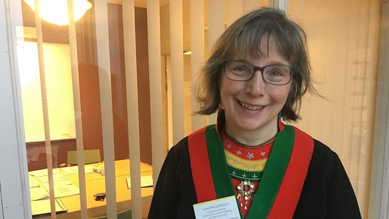 Lena Maria Nilsson, på Vaartoe centrum för samisk forskning, Umeå universitet.