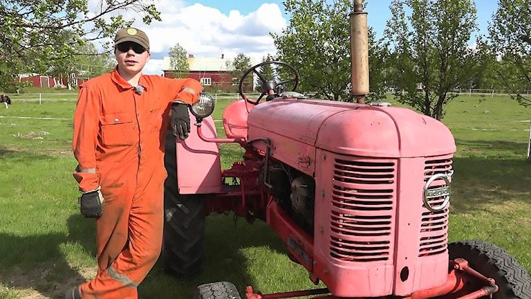 David Fjällborg i serien Motorgalen
