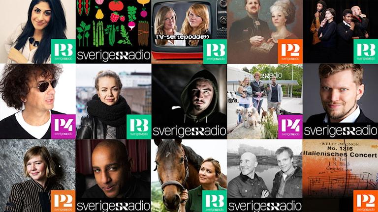 Poddspecialer på Sveriges Radio.