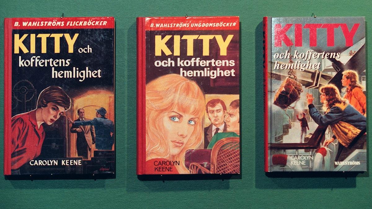 Kittyböcker. Foto Hasse Fridén/TT.