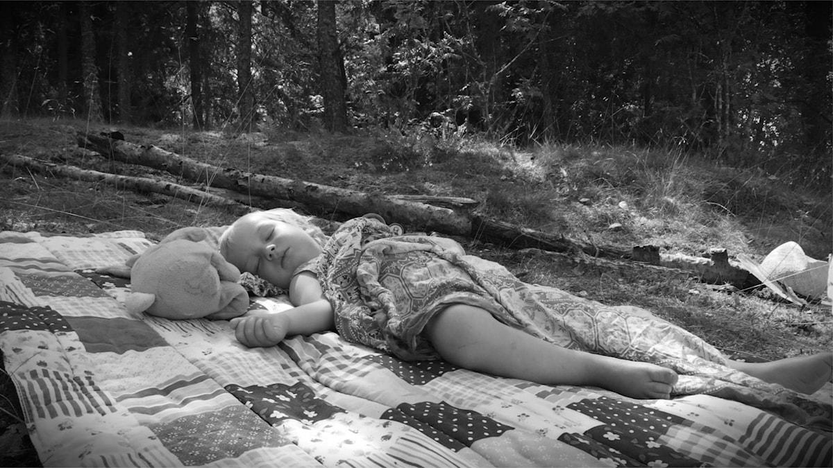 Sovande barn