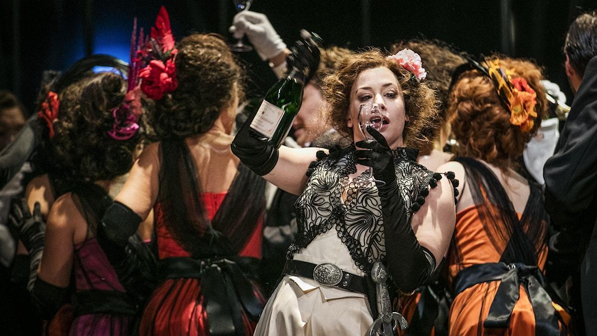 La Traviata på Norrlandsoperan 2018.