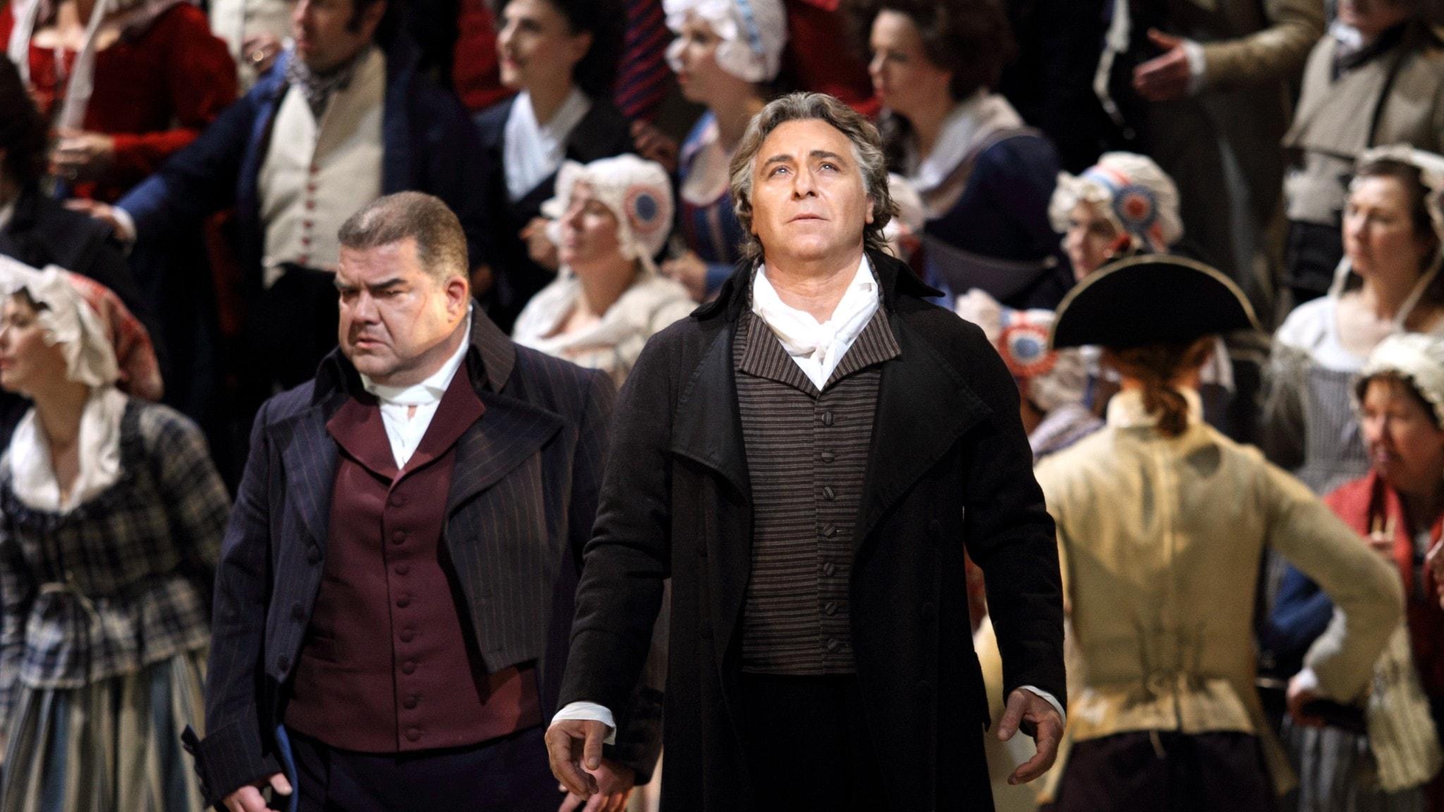 Scen ur operan Andrea Chénier