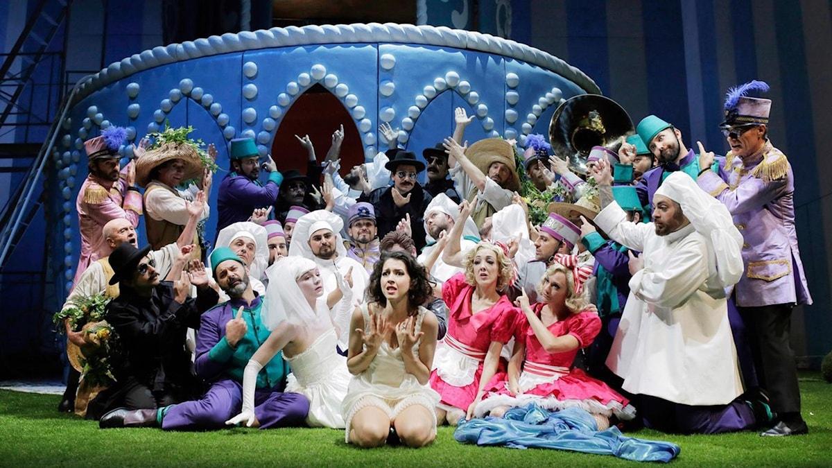"""""""Adina"""" framförd på Rossiniteatern."""