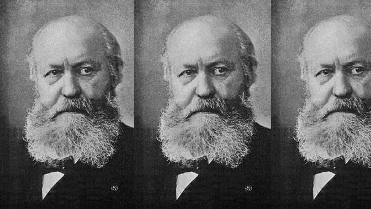 Den franske tonsättaren Charles Gounod, 1818–1893.