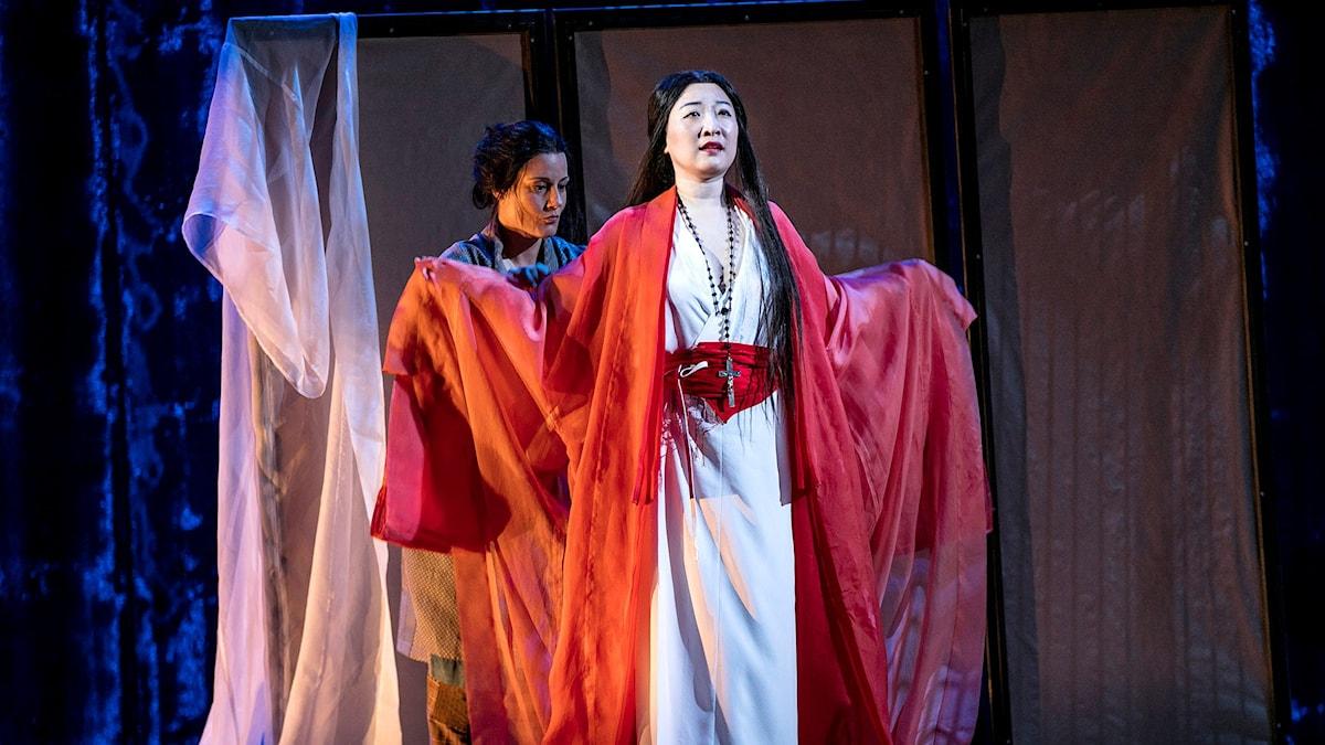 Katarina Giotas och Jung Nan Yoon.