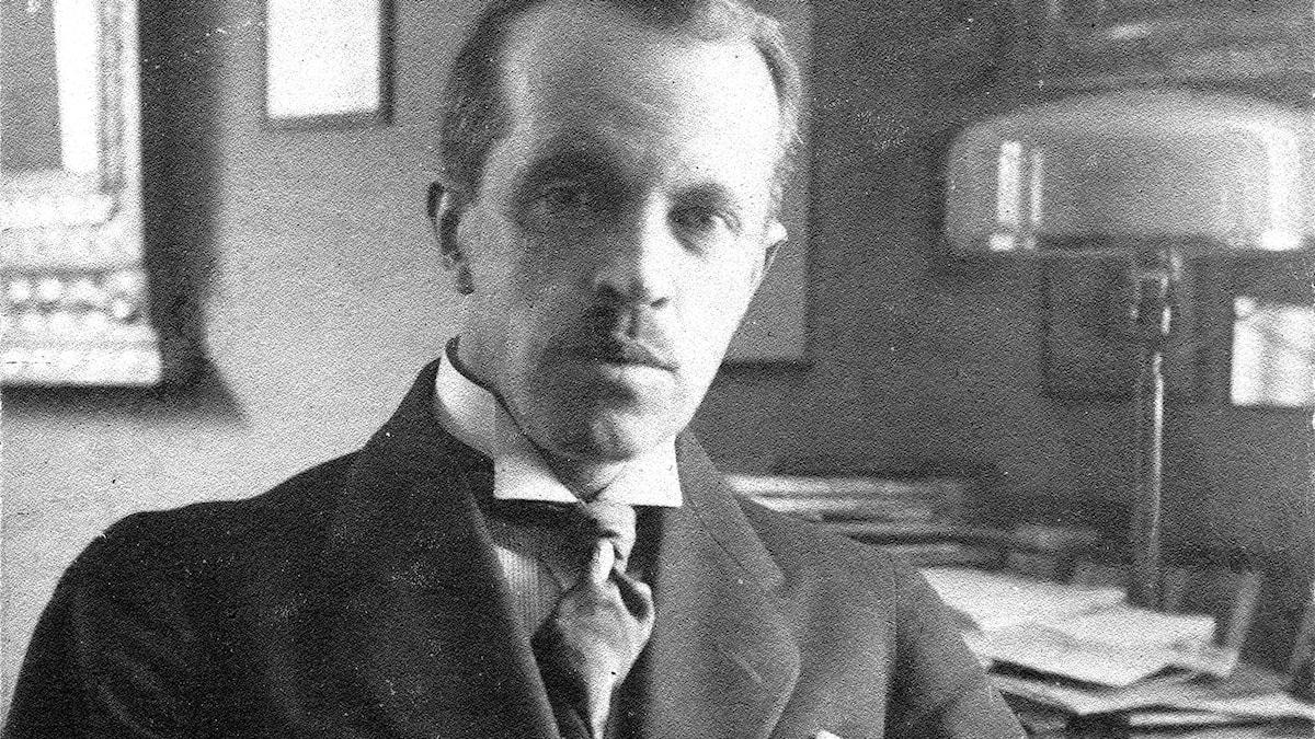 Den finska tonsättaren Erkki Melartin.