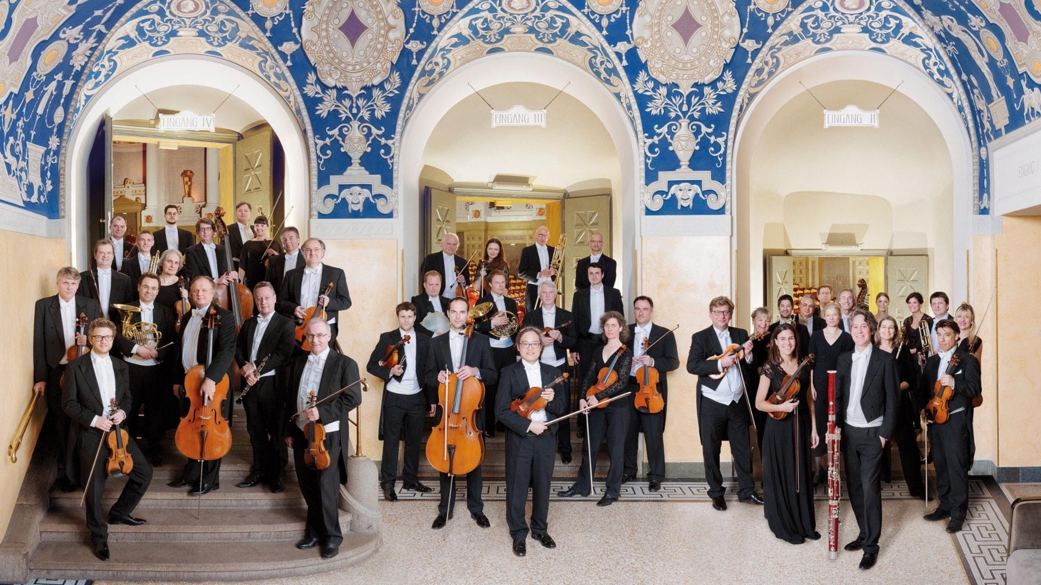 Bild: Münchens radioorkester.