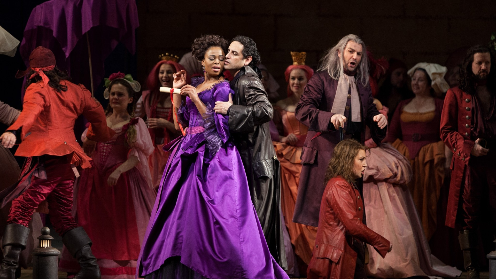 "Rossinis ""Greve Ory"" med Juan Diego Flórez och Pretty Yende på Metropolitan Opera."