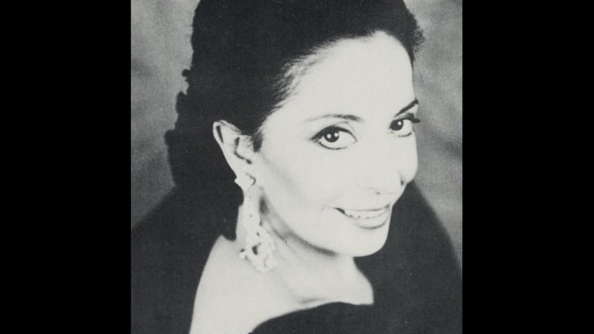 Bild: Teresa Berganza, mezzosopran.