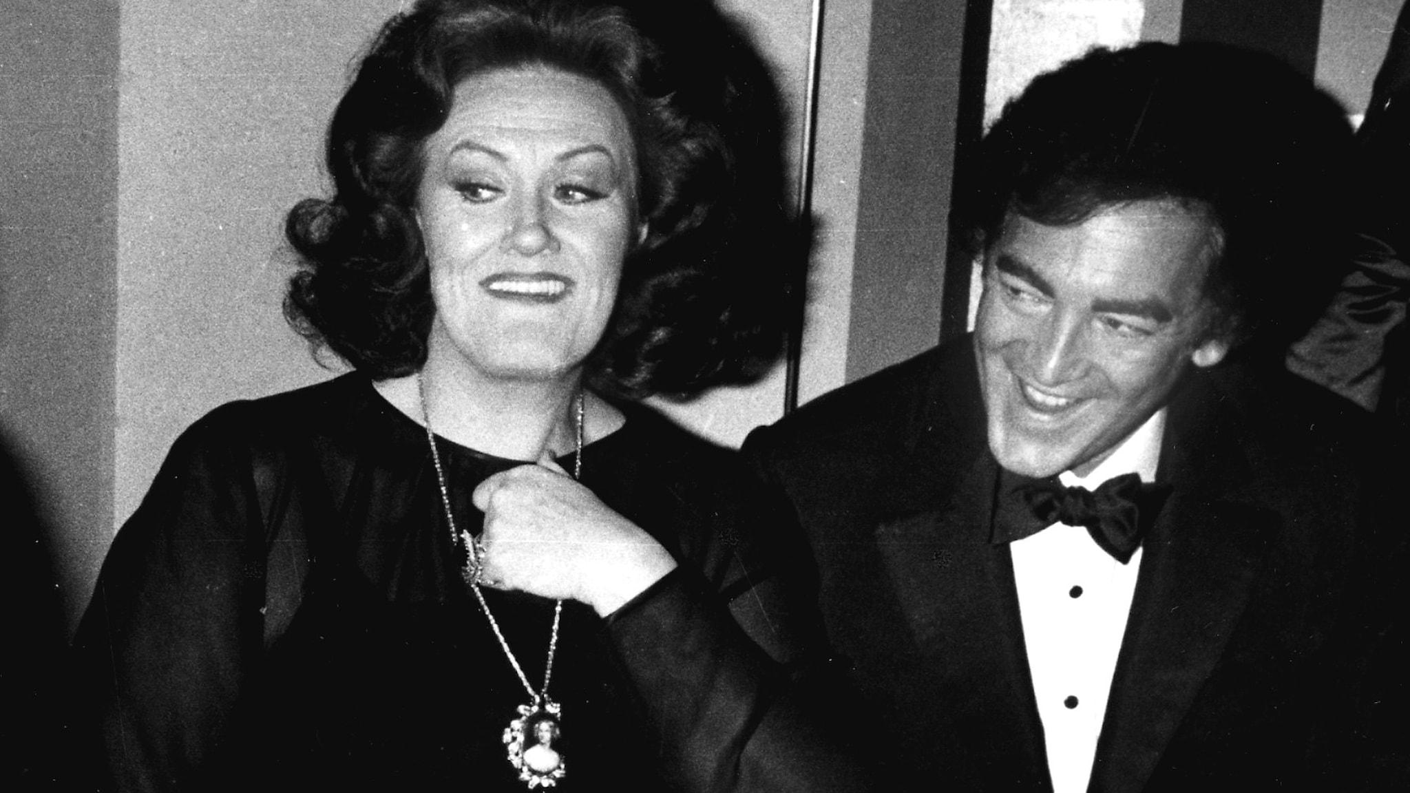 Joan Sutherland och Richard Bonynge.