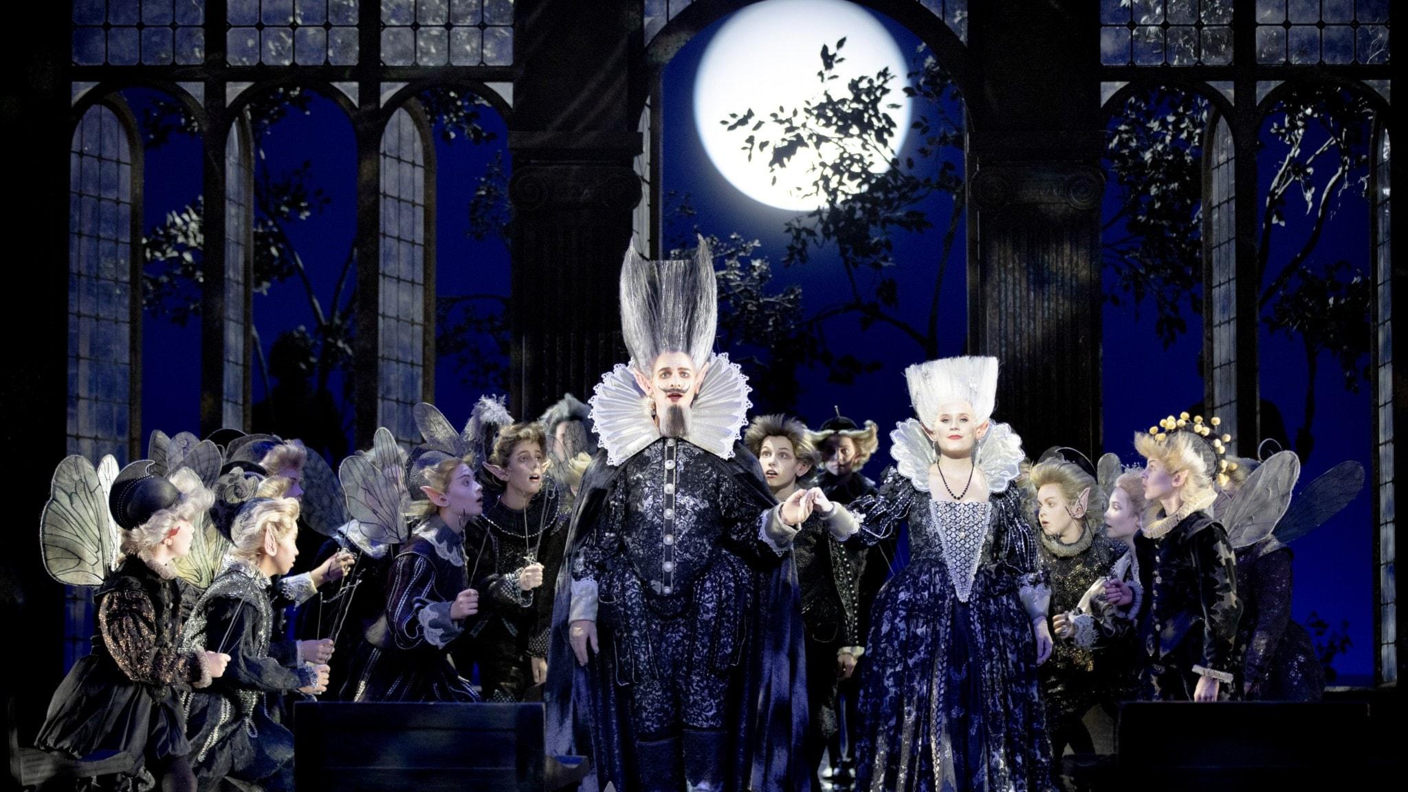 Brittens En midsommarnattsdröm från Malmö opera - spela