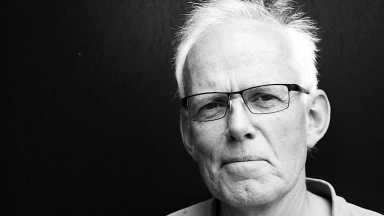 Leif Hagblom, ljudtekniker på P4 Malmöhus. Foto: Hans Zillén/Sveriges Radio.