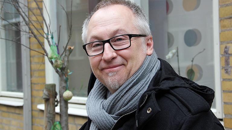 Olle Nilsson, musikredaktör, Malmö, Halland och Kristianstad  Foto: Karin Olsson-Bendix/SR
