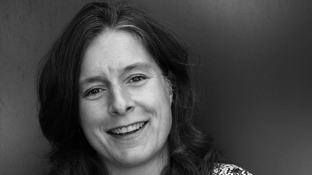 Madeleine Fritsch-Lärka, reporter på P4 Malmöhus. Foto: Hans Zillén/Sveriges Radio.