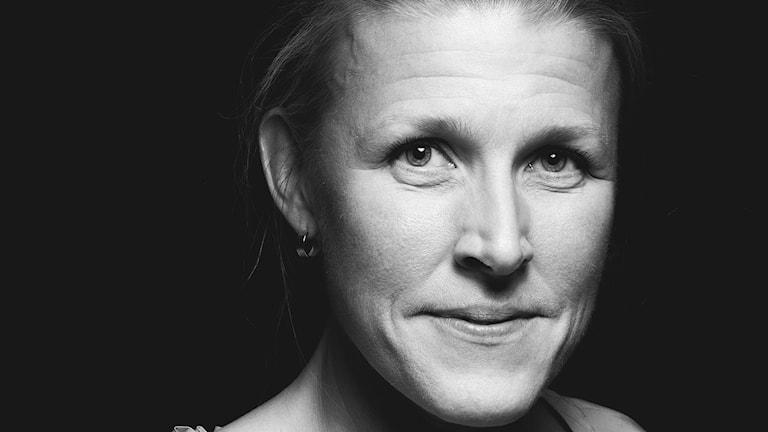 Karin Genrup, studioreporter på P4 Malmöhus.