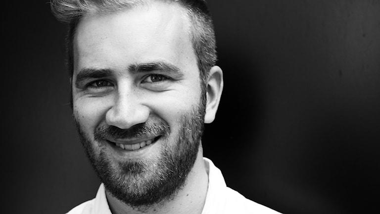 Gustav Wirtén, reporter på P4 Malmöhus. Foto: Hans Zillén/Sveriges Radio.