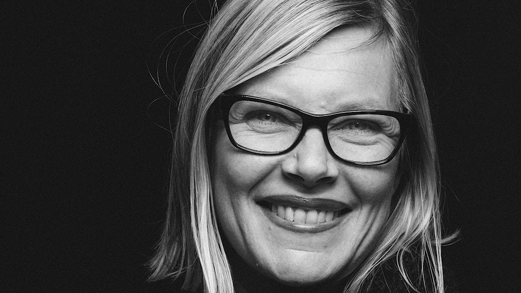 Johanna Hellström, studioreporter på P4 Malmöhus. Foto: Sveriges Radio.