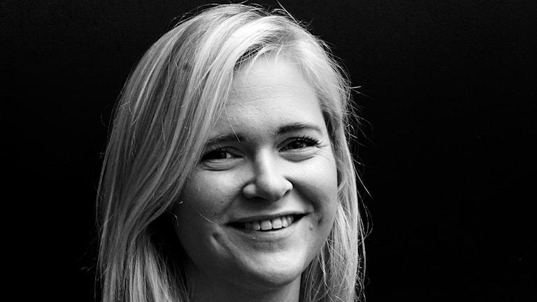 Martina Greiffe, reporter på P4 Malmöhus. Foto: Hans Zillén/Sveriges Radio.
