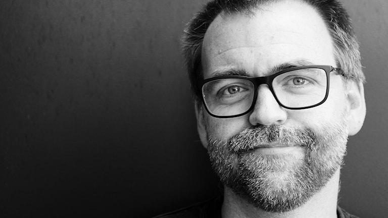 Conny Emmelin, trafikreporter på P4 Malmöhus. Foto: Hans Zillén/Sveriges Radio.