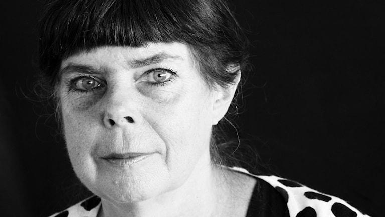 Gunilla Nordström, reporter på P4 Malmöhus och Kristianstad Nordväst. Foto: Hans Zillén/Sveriges Radio.