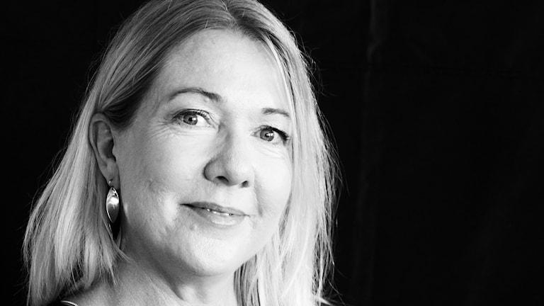 Nina Sköldqvist, reporter och arbetsledare Nordväst. Foto: Hans Zillén/Sveriges Radio.