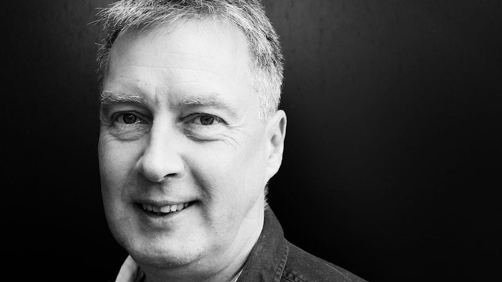 Martin Lavröd, SR-assistent på P4 Malmöhus. Foto: Hans Zillén´/Sveriges Radio.