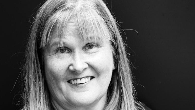 Anne Sseruwagi, kanalchef på P4 Malmöhus. Foto: Hans Zillén/Sveriges Radio.