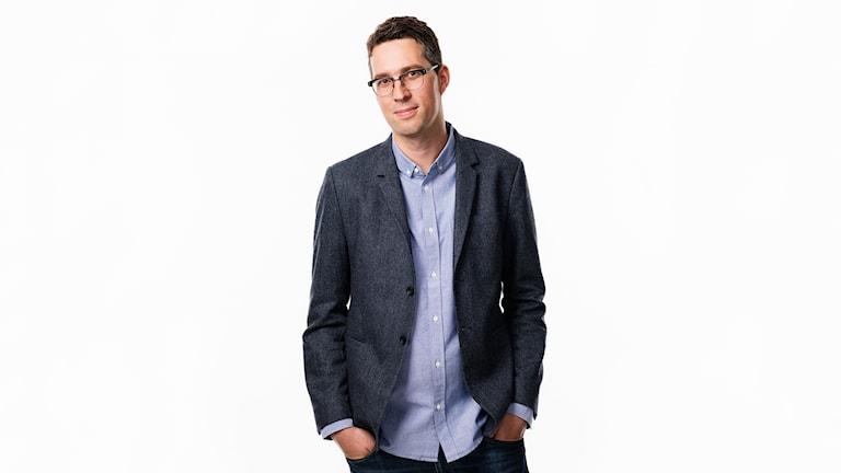 Simon Gooch. Innovationsdirektör Sveriges Radio.