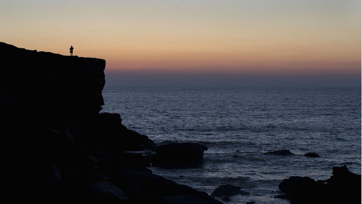Klippa och hav