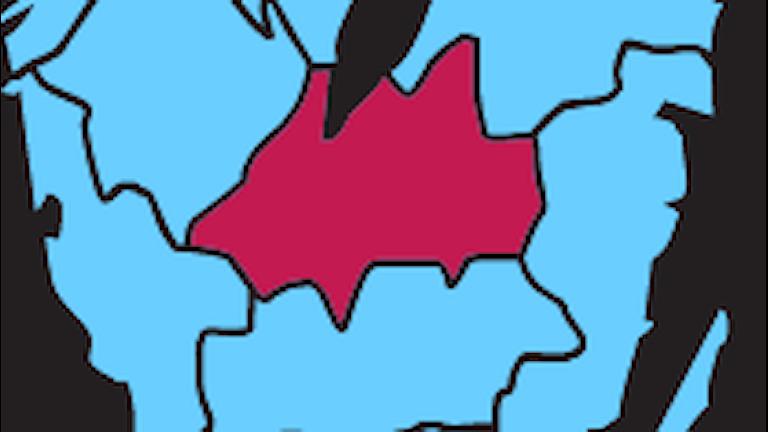 Karta P4 Jönköping