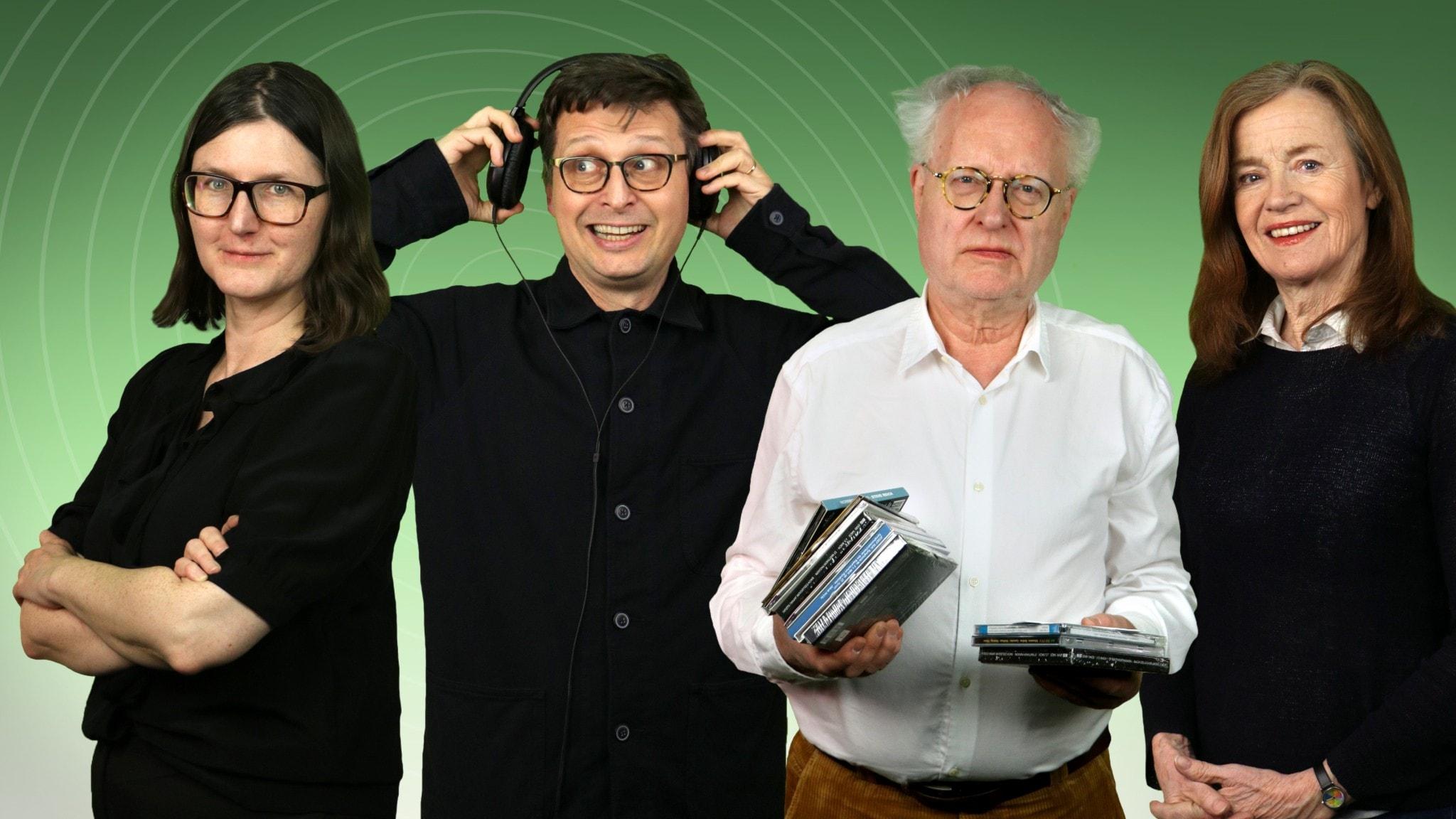Sara Norling, Alexander Freudenthal, Bengt Forsberg och Camilla Lundberg.