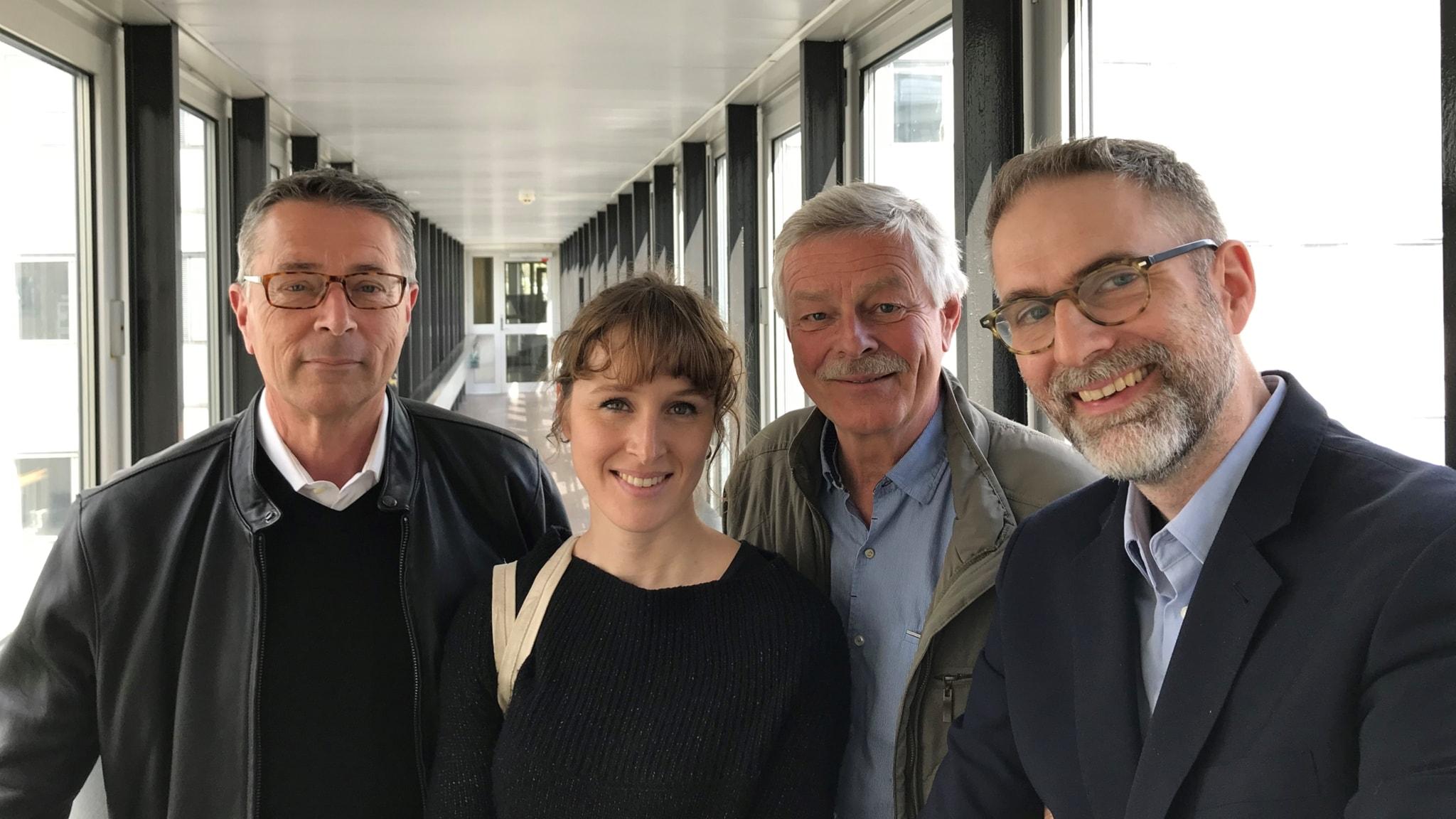 I veckans panel sitter Hanns Rodell från Berwaldhallen, musikproducenten Aurélie Ferriere och radioveteranen Niklas Lindblad.