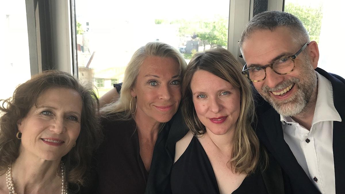 Boel Adler, Katarina Ewerlöf, Edith Söderström, Johan Korssell