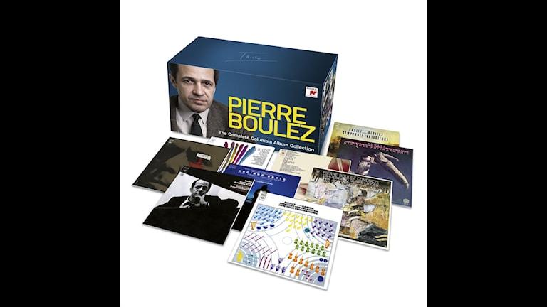 Pierre Bouléz -  The complete Columbia album collection.